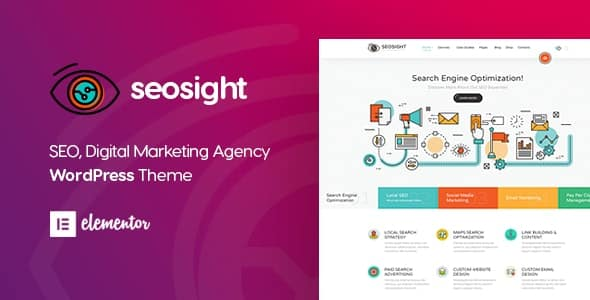 Seosight 4.8 - Digital Marketing Agency WordPress Theme