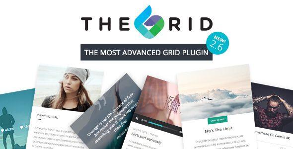 The Grid 278 Nulled Responsive Wordpress Grid Plugin