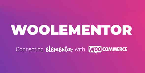 Woolementor Pro 151 Nulled Connecting Elementor with WooCommerce