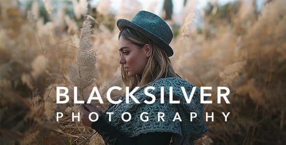 Blacksilver 69 Photography WordPress Theme