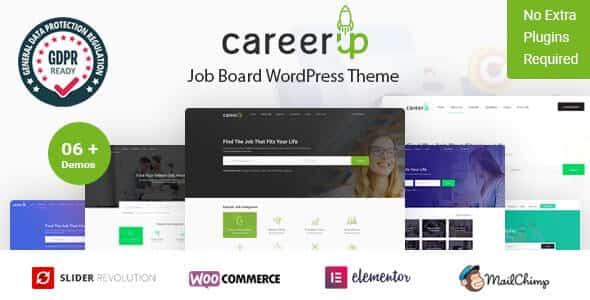 CareerUp 239 Job Board WordPress Theme