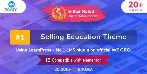 Eduma 4291 Nulled Education WordPress Theme