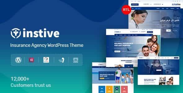 Instive 112 Insurance WordPress Theme