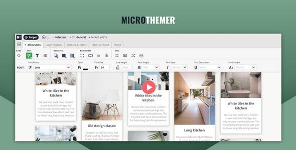 Microthemer 6324 Nulled WordPress Visual Design CSS Plugin