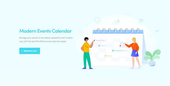 Modern Events Calendar Pro 5125 WordPress Plugin