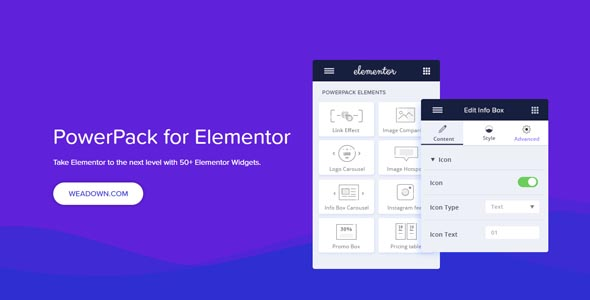 PowerPack For Elements 212 Nulled Addons for Elementor