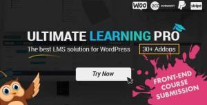 Ultimate Learning Pro 2.7 Nulled - WordPress Plugin