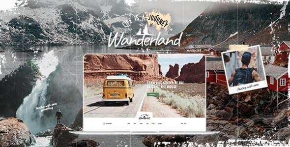 Wanderland 12 Travel Blog Wordpress Theme
