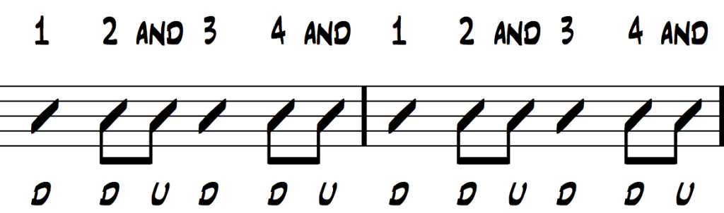 guitar strumming pattern 3