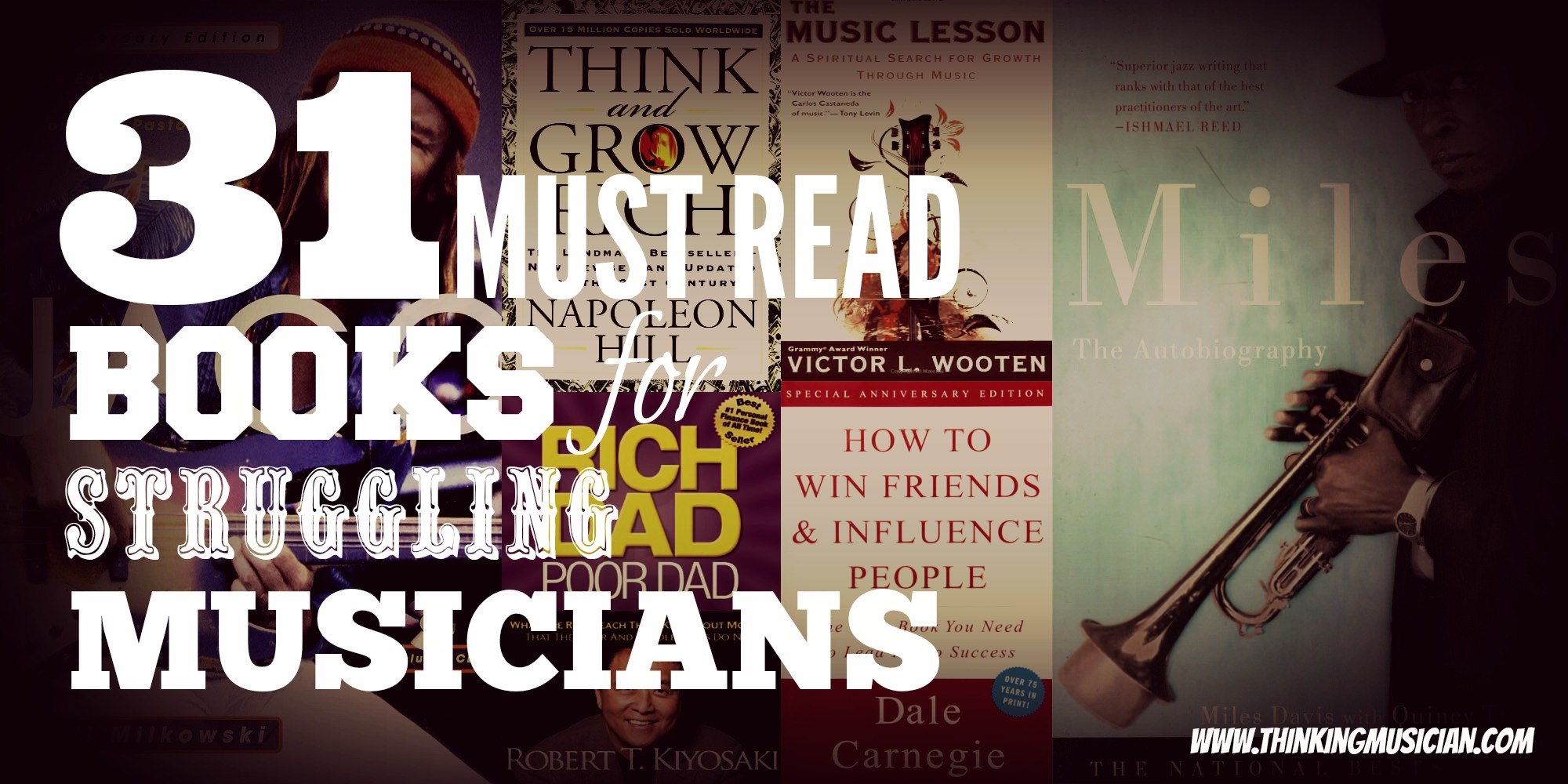 31 must read books for struggling musicians1
