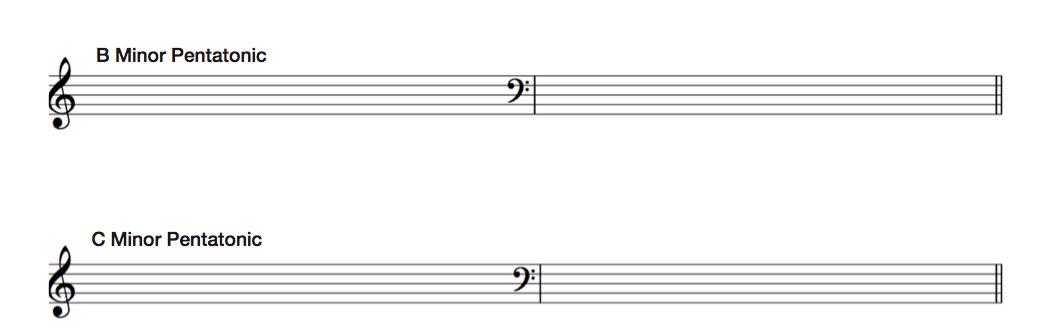 minor pentatonic exercises2