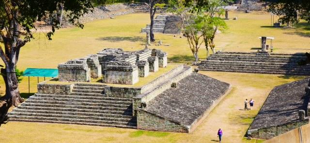Copan's Maya ruins, Honduras