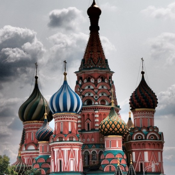 Saint Basil Cathedral - Moscow (Russia)