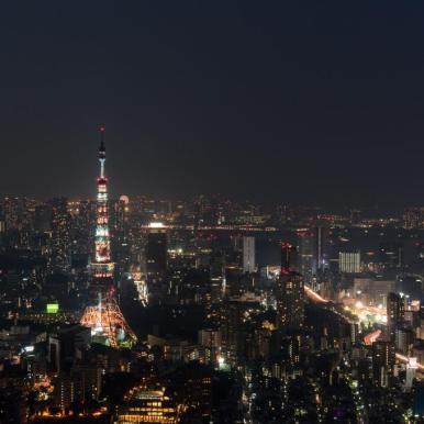 Sky Deck - Tokyo, Japan