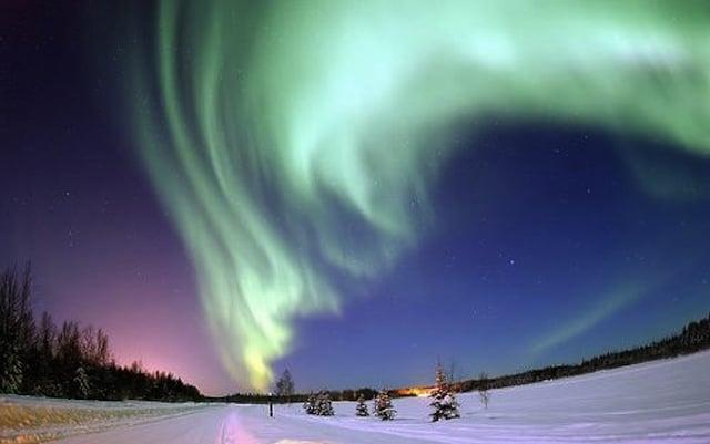 Aurora Borealis - Bear Lake, Alaska