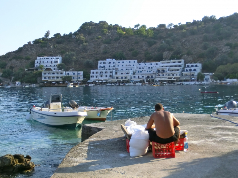Fisherman - Loutro (Crete), Greece