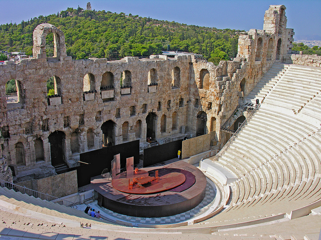 Odeion of Herodes Atticus, Athens