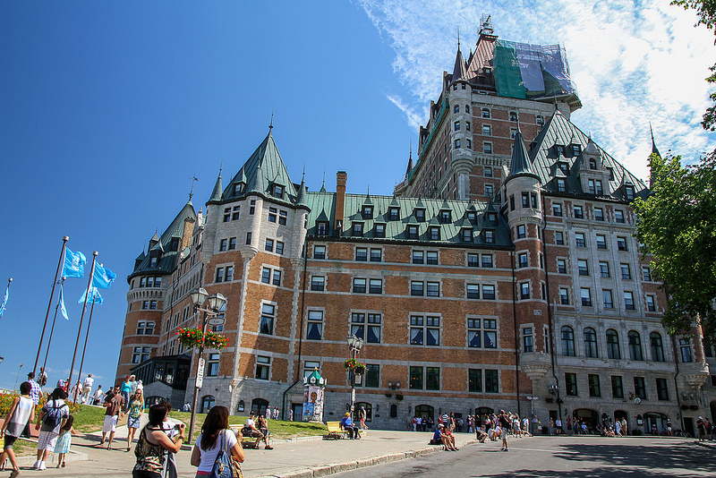 Chateau Frontenac - Quebec City, Canada
