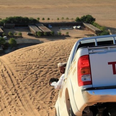 Desert Camp, Oman