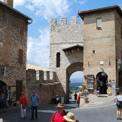 Saint Francis Gate, Assisi - Umbria, Italy