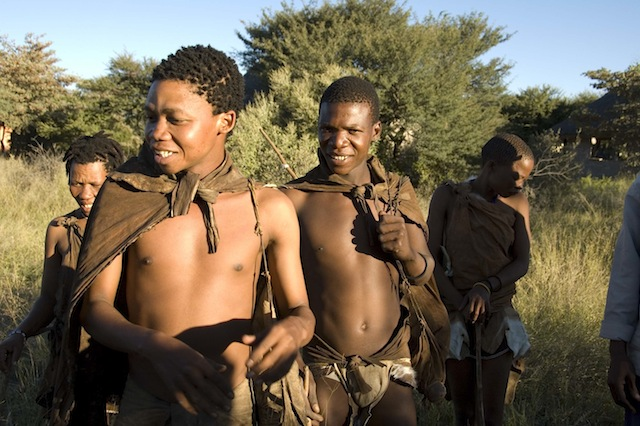 Bushman walk, Ghanzi, Botswana