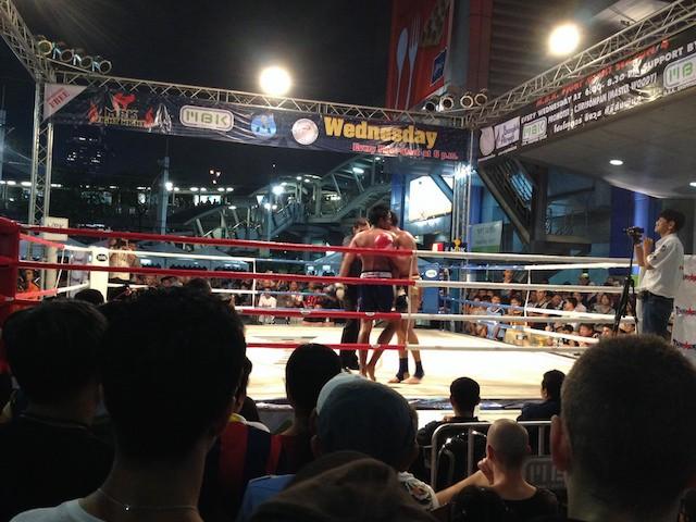 Free boxing at Siam - Bangkok, Tailandia