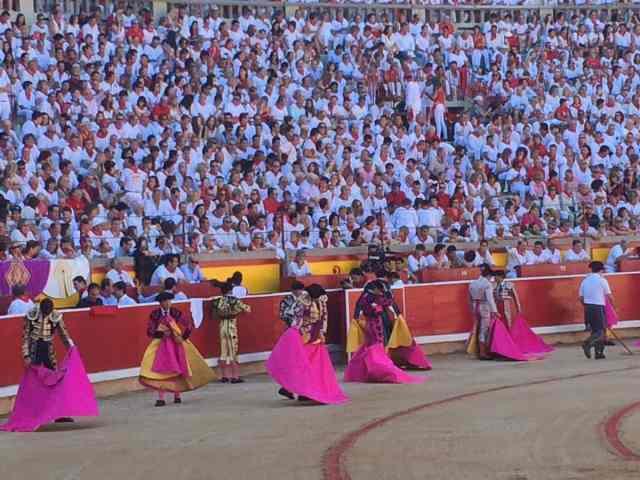 Pamplona: Running with the Bulls