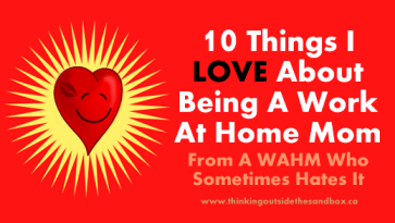 10 things i love about being a wahm
