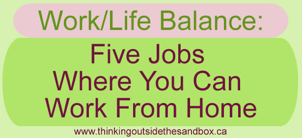 5 jobs where you can work from home