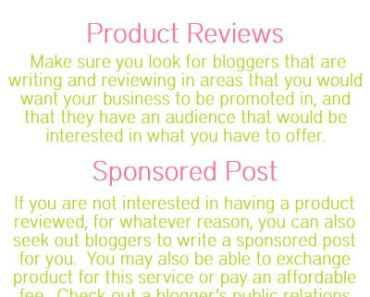 How To Promote Your Business By Teaming Up With Bloggers