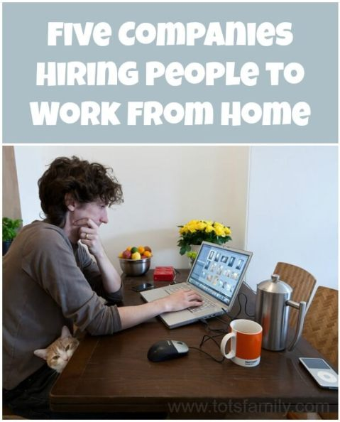 Five Companies Hiring People to Work From Home
