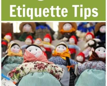 10 Craft Fair Organizer Etiquette Tips