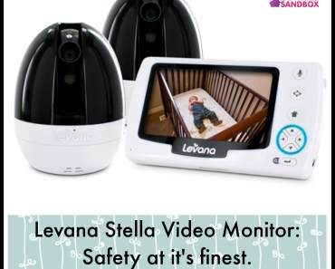 Levana Stella Video Monitor: Safety at it's finest. #DoMore