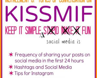 Learn how to share your posts on social media, how to use hashtags properly on social media, and tips for Instagram