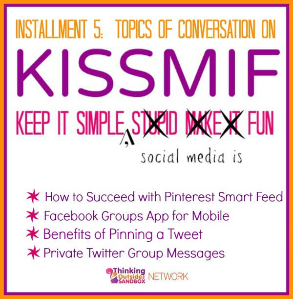 Helpful Social Media information including tips on Pinterest, Facebook, and Twitter