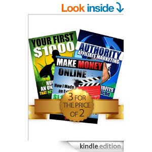 Online Business Bundle: Your First $1000 + Make Money Online + Authority Affiliate Marketing eBook