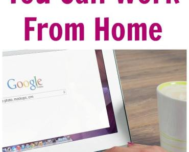 Another List Of Jobs Where You Can Work From Home