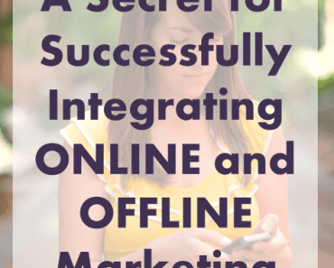 Successfully integrating online and offline marketing