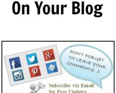 6 Things I Want to See on Your Blog