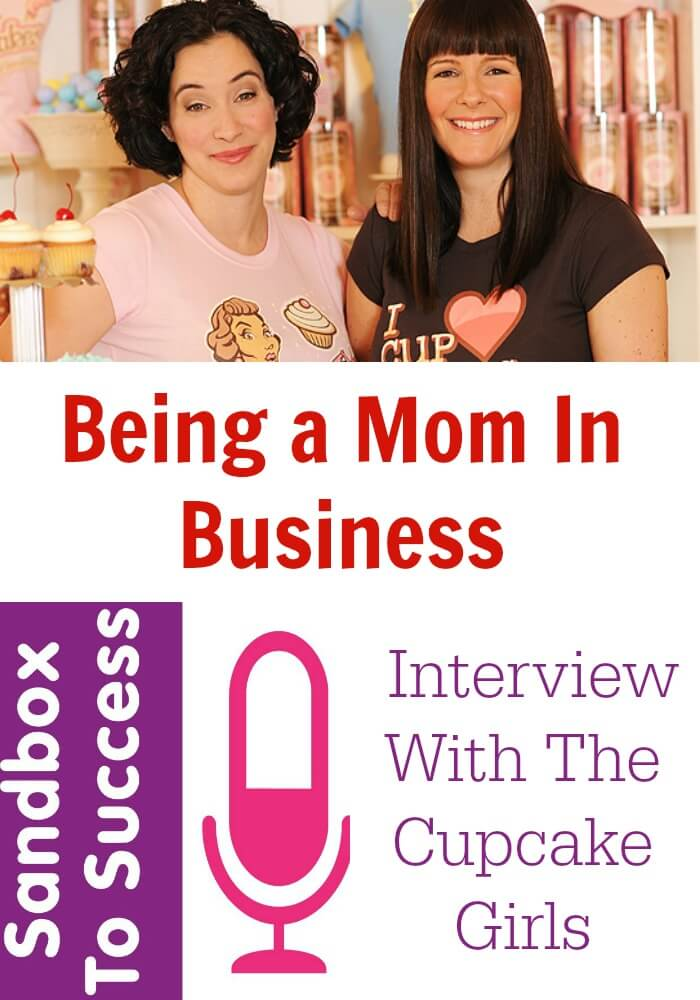 Being A Mom In Business. An Interview With The Cupcake Girls
