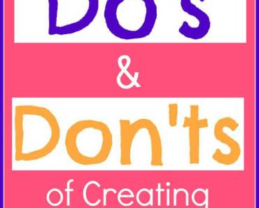 "Here are some basic ""Do's and Don'ts' for putting together Round-up Posts"