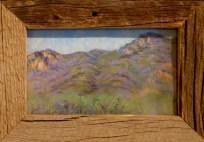 """Valley View"" Beatrice Miera-Medina, pastel"