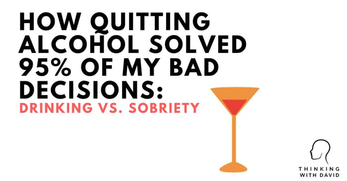 Habits David Quitting Essay Bad Drinking Solved Smart Vs How Alcohol 95 An Sobriety On Of My