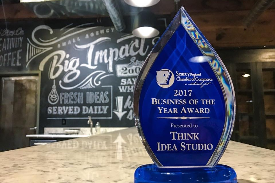 Think Wins 2017 Business of the Year in Searcy