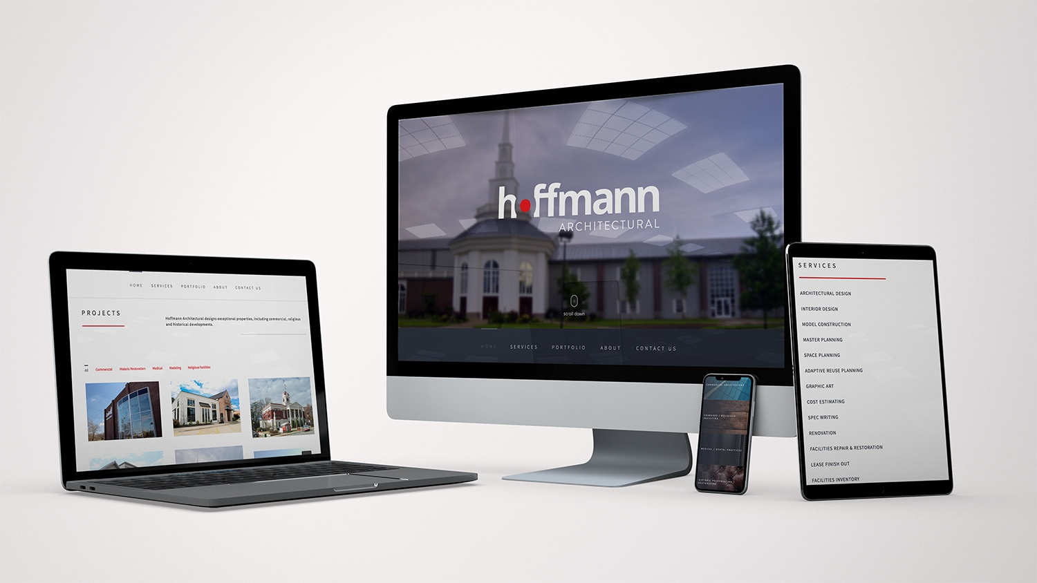 Hoffmann Architectural Website