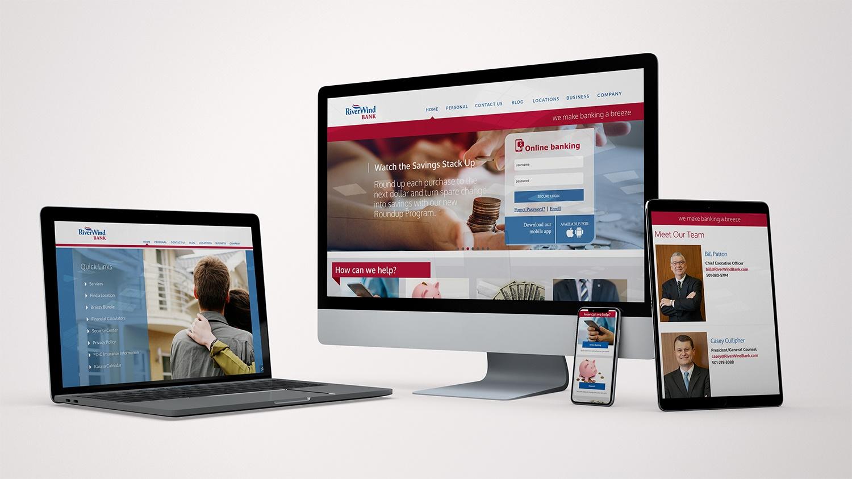 RiverWind Bank Website