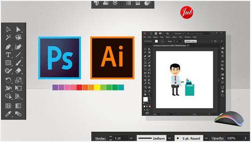 adobe photoshop dan adobe illustrator