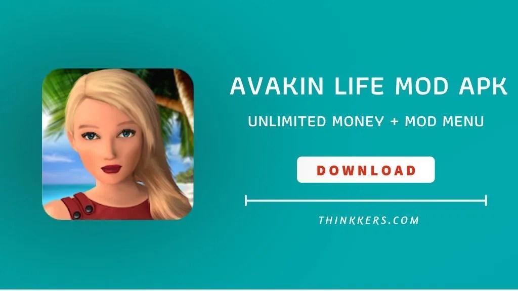 avakin life mod apk download