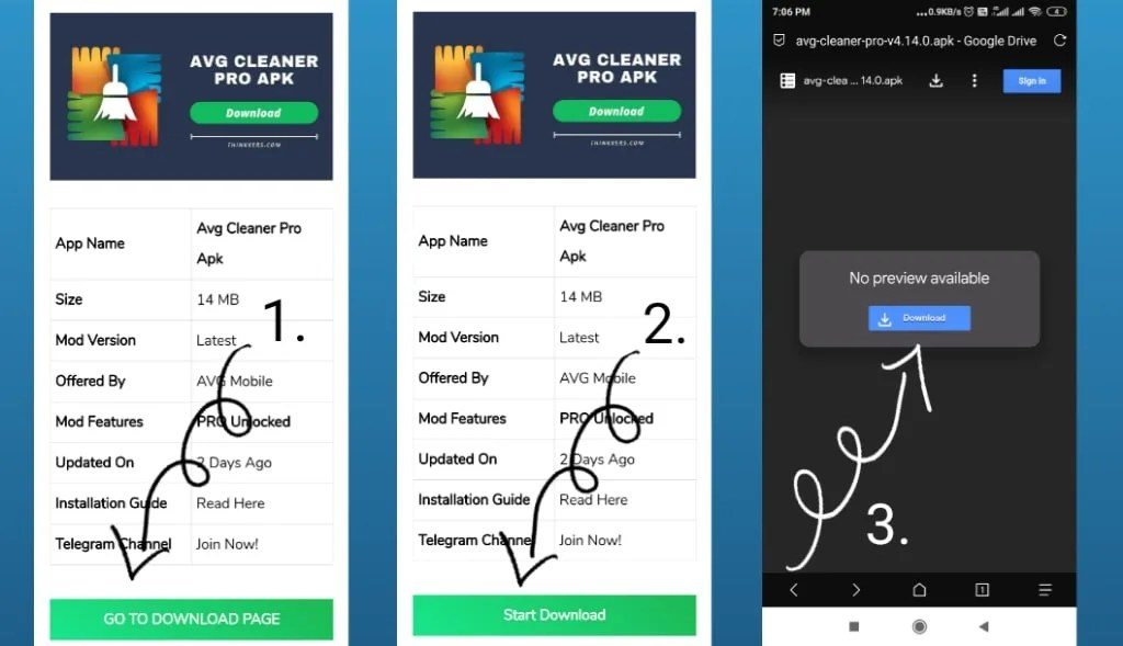 download avg cleaner pro paid apk
