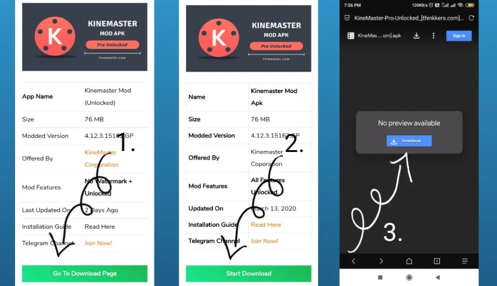 Download kinemaster pro mod apk